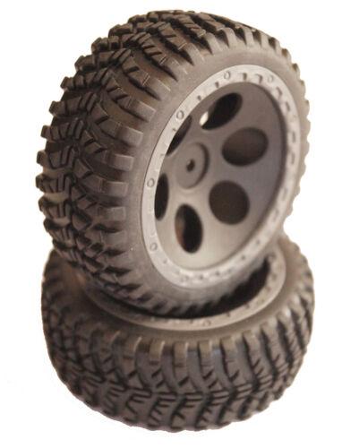 Jamara 1:10 Buggy Reifen Kompletträder mit Einlagen 2 Stk 505147