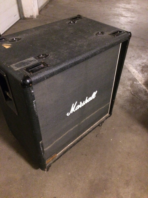 Baskabinet, Marshall JCM 800 Model 1580, 400 W, Vintage…