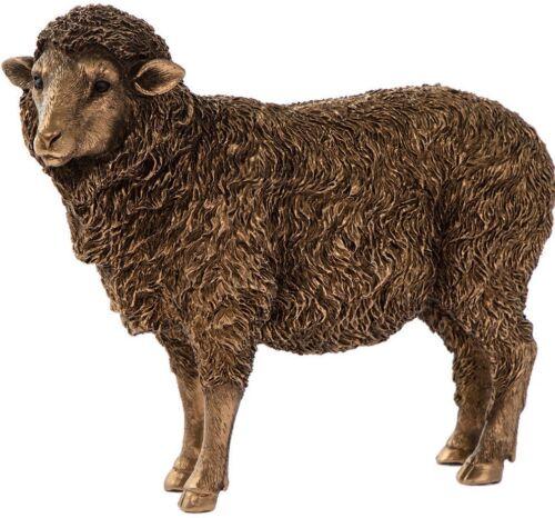 Sheep Ewe Ornament Reflections Bronze Figurine The Leonardo Collection NEW