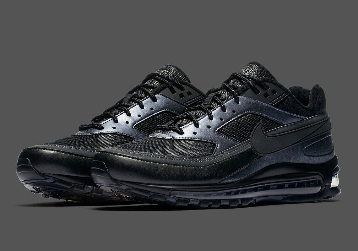 Nike air max 97 97 max / kg ao2406-001 schwarz metallic hämatit - neue männer - Turnschuhe 0e847f