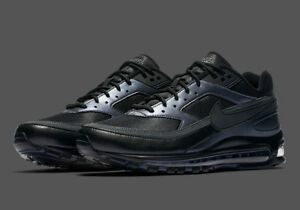 buy online 0d09c 35a29 Image is loading NIKE-AIR-MAX-97-BW-AO2406-001-Black-
