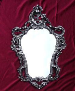 Specchio barocco specchio a parete repro antico barocco for Specchio barocco argento