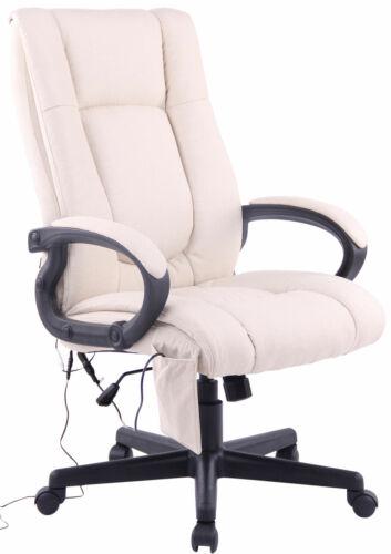 Bürostuhl XL Sparta XM Stoff Schreibtischstuhl Computerstuhl mit Massagefunktion