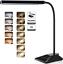 LED Desk Lamp,TOPELEK 5V//2A USB Fast Charging Port Table Lamps,5 Color Modes x 7
