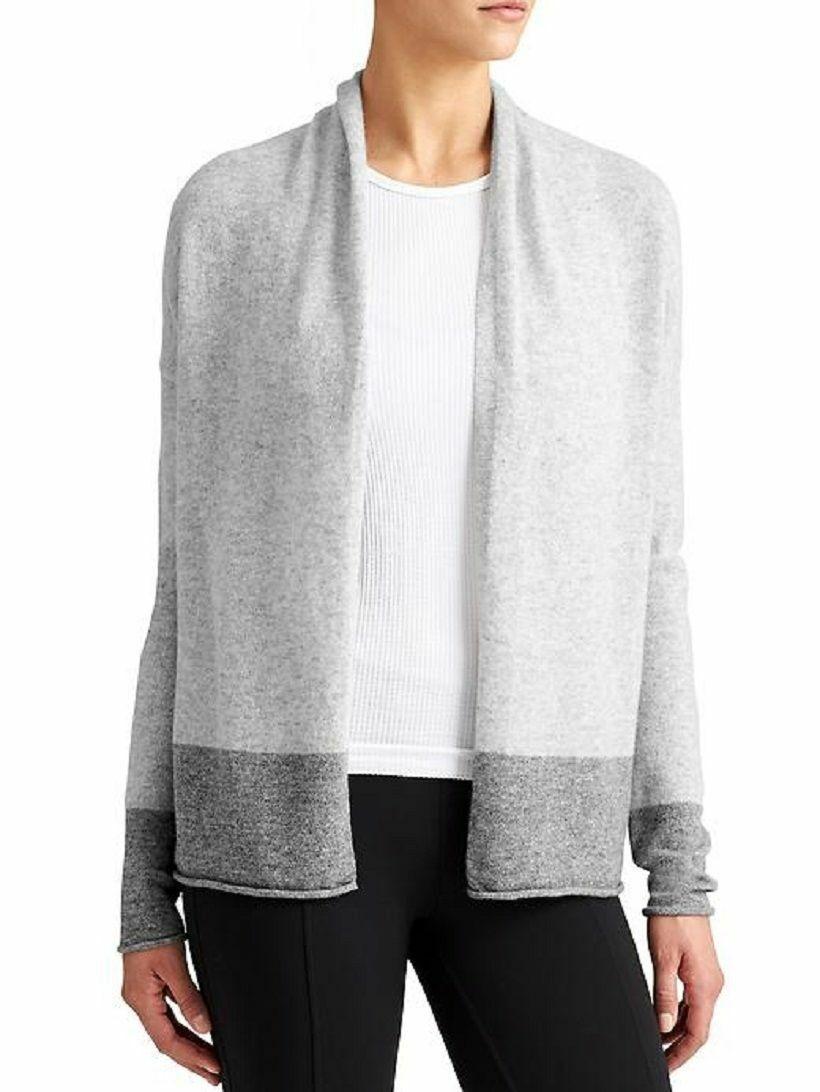 ATHLETA Cashmere Cocoon Sweater, EUC, XS, grau, MSRP  198