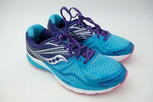 19c3098f3733 Saucony Ride 9 Running Shoes - Women s Navy Blue Pink Size US 9.5 EU ...