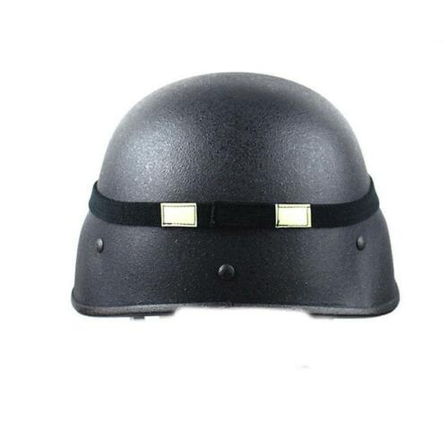 Helmet Scrim Band Reflective Cat Eyes with Luminous Rubber Band Supplies T