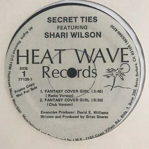Details about Secret Ties - Fantasy Cover Girl / Dancing In My Sleep 12