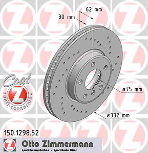 Brake-Disc-2-Piece-Sport-Coat-Z-Zimmermann-150-1298-52