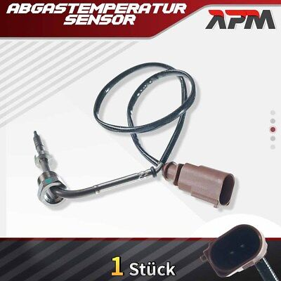 Abgastemperatursensor vor Turbolader für Audi A3 Seat Skoda VW 1.9L 2.0L Diesel