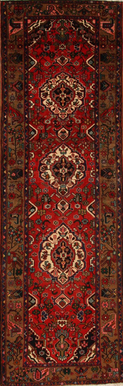 TAPPETO Orientale Vero Annodato Tapis persan n. 4617 (320 x 102) cm alfiere