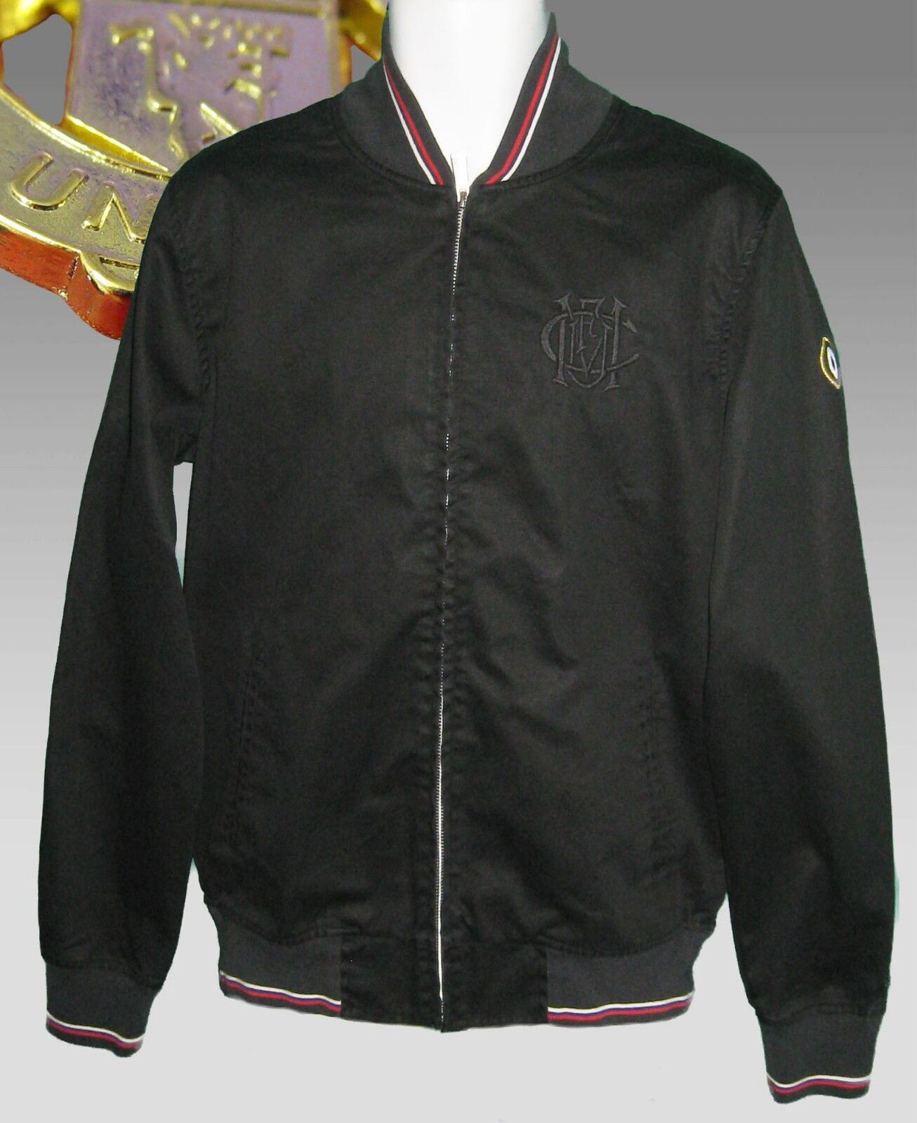 2b298ae39dc6 Nouveau Nike Nsw Homme Manchester United United United Football Club Anthem Bomber  Veste Noir L 84bebd