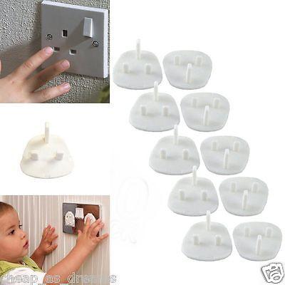 10x Presa Coprire Baby A Prova Di Bambino Sicurezza Protettore Guard A Rete Elettrica- Acquista Sempre Bene