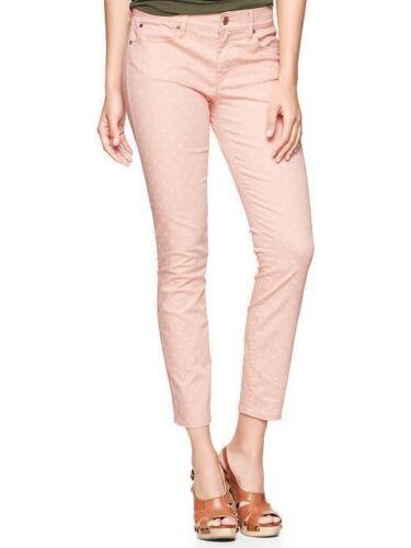 Womens color punti 13 1969 con New Spr pallido Legging 450863 Gap S pesca Jeans wgXFxwq
