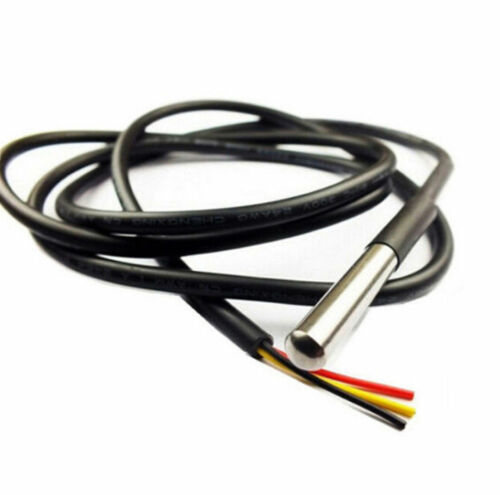 1//2M DS18B20 Temperature Sensitive Module Thermometer Waterproof Cable Probe