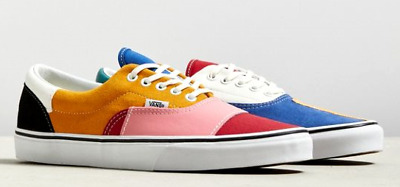 lovely design top-rated quality elegant shoes VANS ERA PATCHWORK MULTICOLOR 7 --11 marshmallow slip on cap checkerboard  yacht | eBay