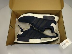 Details about Adidas NMD R1 Collegiate Navy Mesh Worn Used Size 12 Boost S79161