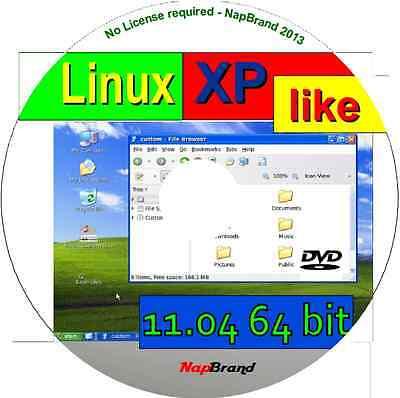XPLike 11.04 - A WIN lookalike Linux, available as 64 bit Live DVD