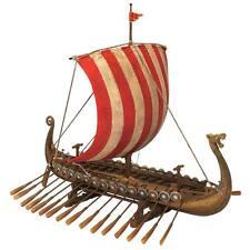 Design Toscano Drekar The Viking Longship Collectible Museum Replica Ship Model
