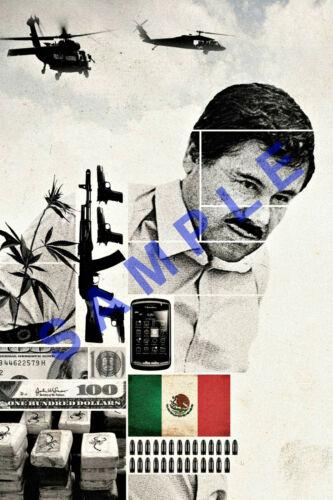EL CHAPO 12x18 POSTER NARCOS JOAQUIN GUZMAN LOERA DRUG LORD MEXICO 5