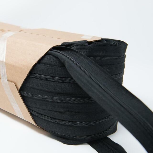 # 10 Brass Zipper Chain Per Yard Zipper Tape Black Bags Tents Upholstery