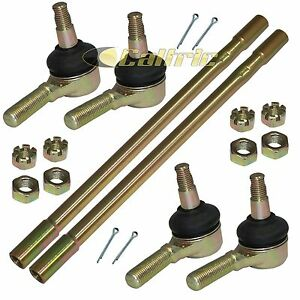 2013 2014 Yamaha 700 Grizzly YFM700 EPS 4x4 Inner and Outer Tie Rod Ends 2 Sides