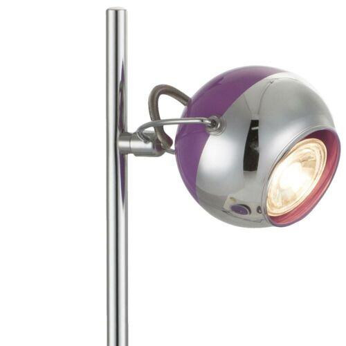 2 x LED Retro Büro Schreib Tisch Lese Lampe Kugel Spot Leuchte Beleuchtung 43 cm