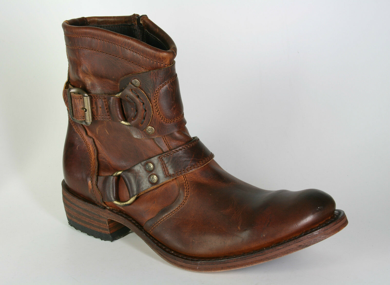 7567 Sendra botas Evolution tang Wide marrón