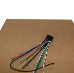 NEW WIRE HARNESS FOR JVC KD-R300 KDR300 Free Fast Shipping   eBayeBay