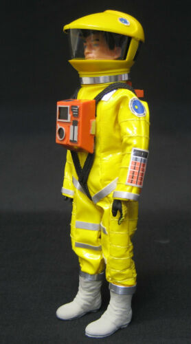 ACCESORIOS EQUIPO MISION DISCOVERY ONE 2001 SPACE ODYSSEY MADELMAN ASTRONAUTA.