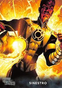 SINESTRO-DC-Comics-Super-Villains-Cryptozoic-2015-BASE-Trading-Card-55