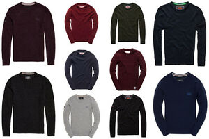 New-Mens-Superdry-Knitwear-Selection-Various-Styles-amp-Colours