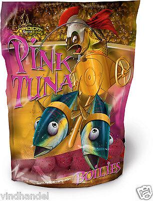 "3 kg Quantum Radical ""PINK TUNA"" BOILIE 20mm  Köder Futter Boilies Lockfutter"