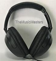 Studio Monitor Dj Home Stereo Digital Audio Headphones Sealed Full-size Over Ear