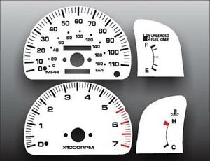 1995-1997-Toyota-Tacoma-Tach-Dash-Cluster-White-Face-Gauges-95-97