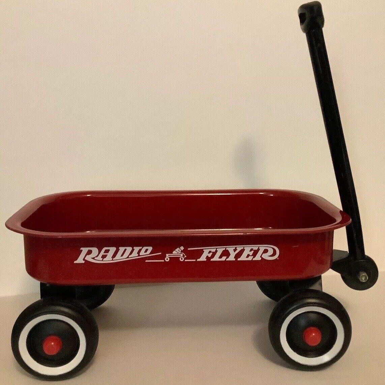 Radio Flyer Little Red Toy Wagon Seamless steel Carrito Plegable para