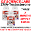 From-14-95-ZMA-Zinc-Magnesium-Vit-B6-Testosterone-Booster-AUST-MADE thumbnail 3