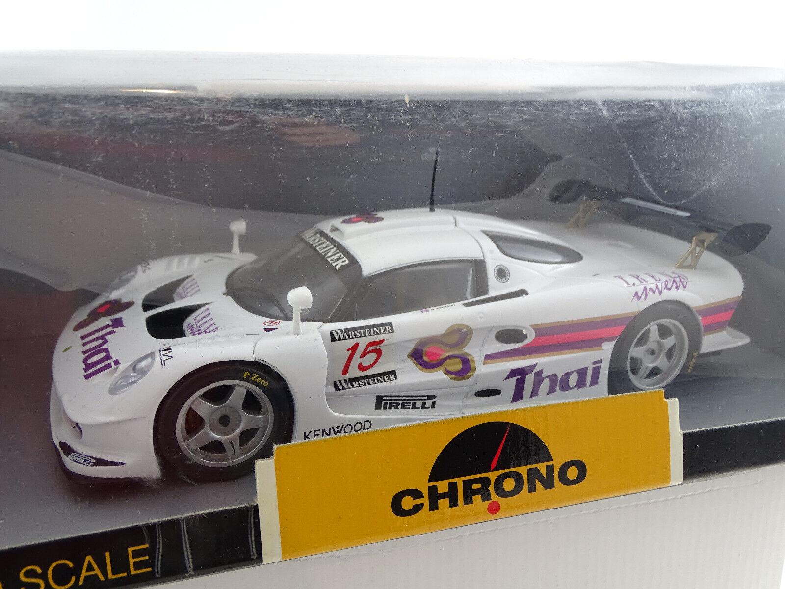 1 18 Chrono  h1072 LOTUS elise gt1 Thai R. Prutirat 1997  15 Limited RAR