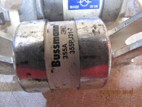 Industriale Rete Elettrica Fusibile collegamento bolt in 130mm 160 250 315 355 Amp Lawson fuselinks