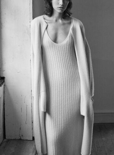 Soft Ecru M 40 Knit 42 Cashmere Zara Maxi Dress 38 36 S Dress Cashmere Super OFfxqnPY