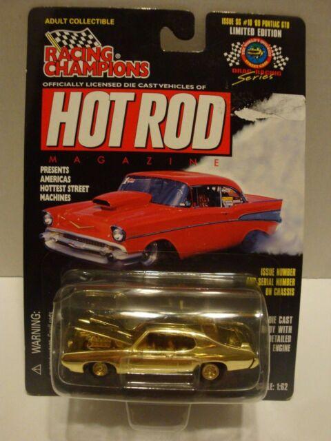 Racing Champions Hot Rod Mag  Issue #10 '69 Pontiac GTO