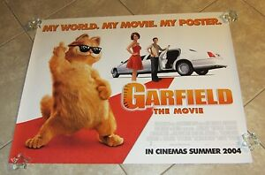 Garfield Movie Poster Garfield The Cat Ebay
