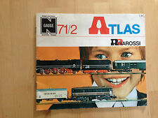 Atlas / Rivarossi Catalogue 1971/72 with English text Catalogo Originale