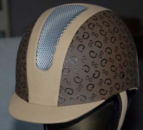 Equestrian Horse Riding Helmet . Unisex VG1 Pony Club and EA approved GC print
