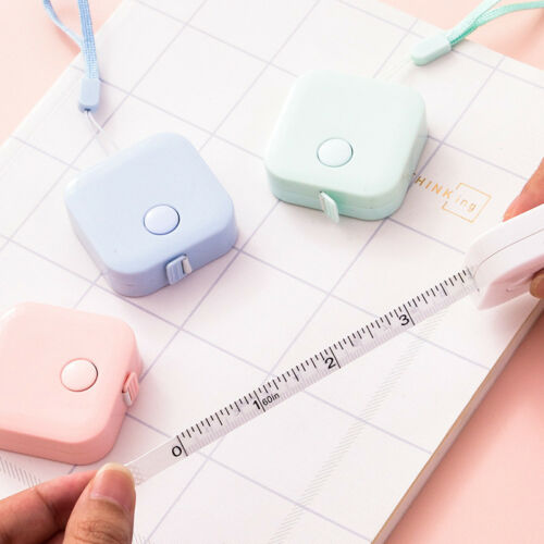 1pc Soft Rulers Candy Color Portable 60inch 150CM Retractable Tapeline Hot Sell
