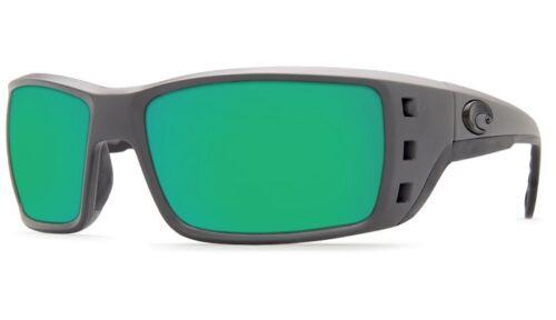 Costa Del Mar Permit Sunglasses PT 98 OGMGLP Grey Green Mirror 580G Polarized