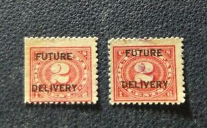 2-sellos-USA-Future-delivery-2-cent-stamped-EE-UU-usados