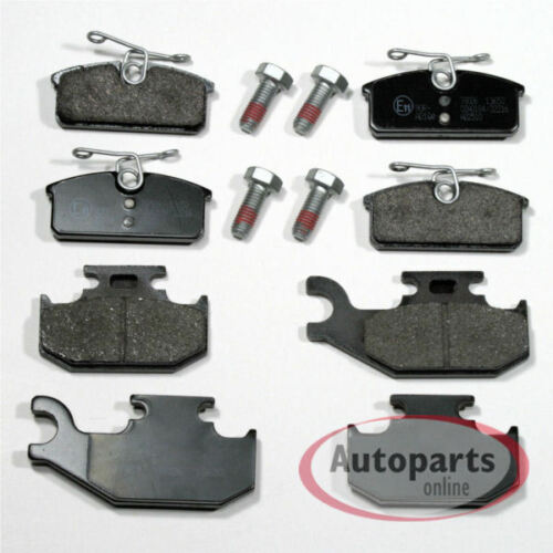 Bremsbeläge Bremsklötze Bremsen für vorne hinten Renault Twizy