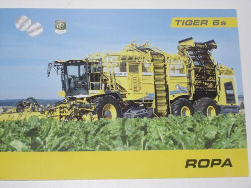 ROPA TIGER 6s Zuckerrübenmaschinen Prospekt von 11//2019 1082