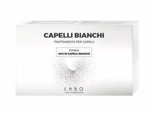 Labo-Haare-Weiss-60-Behandlung-Frau-Bevorzugungen-La-Melanin-Haare-20-Ampullen